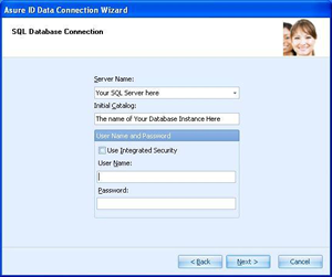 Data Connection Wizard