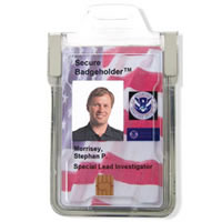 Skim Free Badge Holders