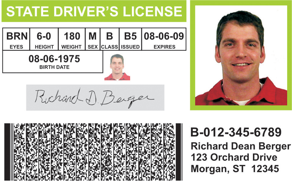 sample id badge